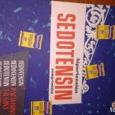Coleccionismo de carteles: PUBLICIDAD LABORATORIO SEDOTENSIN. Lote 106762919