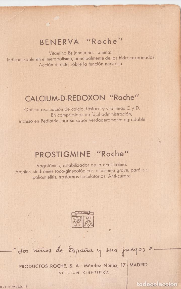 2 Lminas Productos Roche Los Nios De Espaa Y Comprar Carteles Calcium Redoxon Coleccionismo Sus Juegos