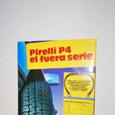 Coleccionismo de carteles: CARTEL DE CARTÓN PUBLICIDAD PIRELLI - DISPLAY PUBLICITARIO - TALLER MECÁNICO - AÑOS 80-90 - T. Lote 106954475