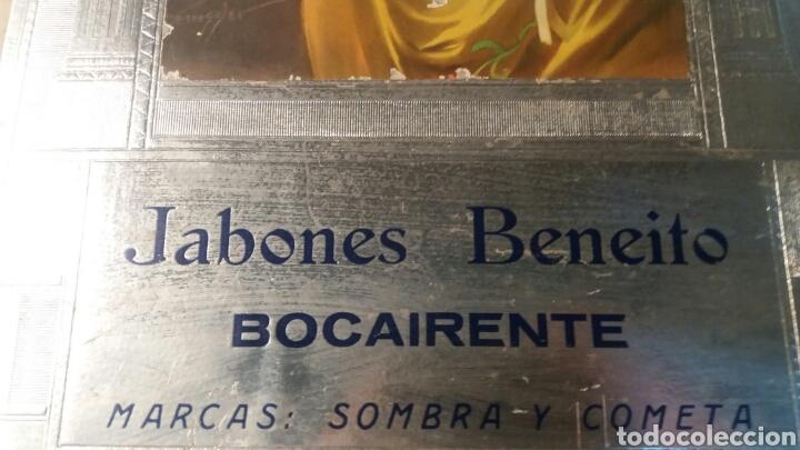 Coleccionismo de carteles: Bocairente cartel antiguo modernista Jabones Beneito - Foto 2 - 109111635