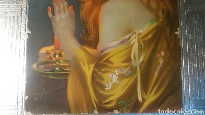 Coleccionismo de carteles: Bocairente cartel antiguo modernista Jabones Beneito - Foto 4 - 109111635