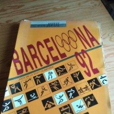 Coleccionismo de carteles: BARCELONA 92 – JOCS DE LA XXV OLIMPIADA. Lote 109360395
