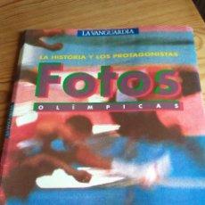 Coleccionismo de carteles: FOTOS OLIMPICAS LA HISTORIA Y LOS PROTAGONISTAS. Lote 109360647