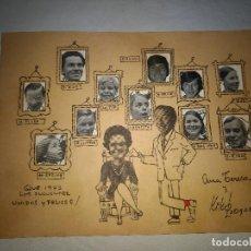 Coleccionismo de carteles: FELICITACION PERSONAL DE KIKO LEDGARD AÑO 1972 -PRESENTADOR DEL 1-2-3. Lote 109624359