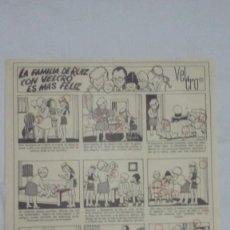 Coleccionismo de carteles: AUCA PAPEL DE VELCRO ESPAÑOLA DE ARGENTONA Y SUS UTILIDADES DEL AÑO 1972 - MIDE 32 X 22 CMS. Lote 110082795