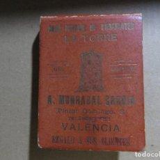Coleccionismo de carteles: LIBRITO DE CROMOS LA GRAN FABRICA DE CHOCOLATE LA TORRE-VALENCIA. Lote 110521271