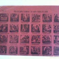 Collectionnisme d'affiches: Nº 47 VIDA DE SANTA FILOMENA Y DE SANTA TERESA DE JESUS. Lote 110568911