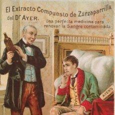 Coleccionismo de carteles: PUBLICIDAD DE ZARZAPARRILLA. LITOGRAFÍA EN COLOR. AÑOS 20. Lote 111388199