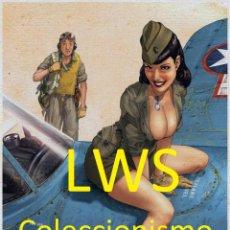 Colecionismo de cartazes: PUBLICIDAD IMÁGENES - MILITAR - AVIACIÓN. Lote 111595115