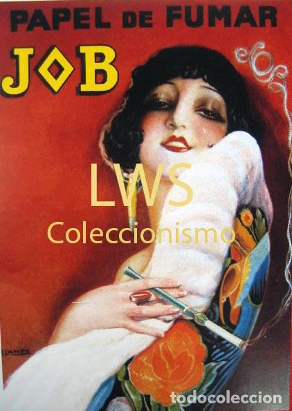 Papel De Fumar Job Publicidad Imágenes Tabaco S Kaufen Alte
