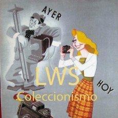 Colecionismo de cartazes: AYER HOY MADEL 35 PUBLICIDAD IMÁGENES IMÁGEN FOTOFRAFÍA. Lote 193175393