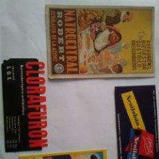 Coleccionismo de carteles: LOTE PUBLICIDAD ANTIGUA. Lote 113170627