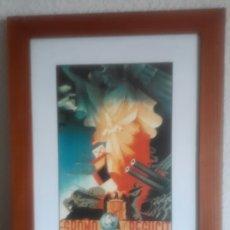 Coleccionismo de carteles: CARTEL ENMARCADO DE LA GUERRA CIVIL ESPAÑOLA. Lote 113823910