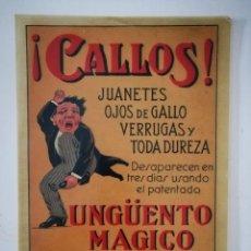 Coleccionismo de carteles: CARTEL UNGÜENTO MÁGICO [1910]. 29,5 X 20 CM.. Lote 190548417