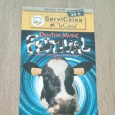 Coleccionismo de carteles: CARTEL DÍPTICO «DOCTOR MUSIC FESTIVAL 1998». Lote 133499665