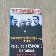 Colecionismo de cartazes: CARTEL TRÍPTICO «THE CRANBERRIES». Lote 115410699