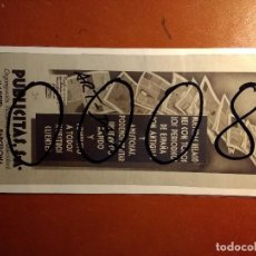 Colecionismo de cartazes: PUBLICIDAD. AGENCIA DE PUBLICIDAD. PUBLICITAS. 1930.. Lote 115438415