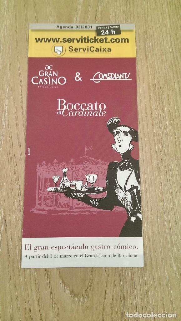 CARTEL TRÍPTICO «BOCCATO DI CARDINALE» COMEDIANTS (Coleccionismo - Carteles  Pequeño Formato) c8df9a20b01e