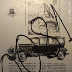 Coleccionismo de carteles: PUBLICIDAD. AUTOMOVILISMO. COCHES. PACKARD. 1927.. Lote 116146639