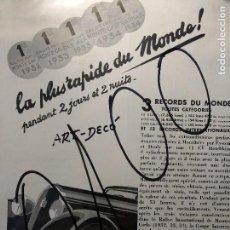 Coleccionismo de carteles: PUBLICIDAD FRANCIA. PUBLICITE FRANÇAISE. COCHES. VOITURES. HOTCHKISS. ART DECO. 1934.. Lote 116228319