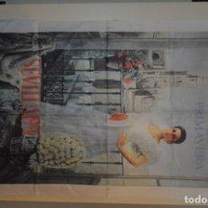Coleccionismo de carteles: CARTEL DE SEDA FIESTAS DE PRIMAVERA FERIA DE SEVILLA 1997. Lote 116294787