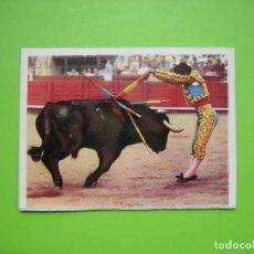 Coleccionismo de carteles: PEQUEÑO CARTELITO TAURINO. MEDIDAS 9,5X7,5 CM. Lote 116967727
