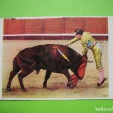Coleccionismo de carteles: PEQUEÑO CARTELITO TAURINO. MEDIDAS 9,5X7,5 CM. Lote 116967855