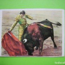Coleccionismo de carteles: PEQUEÑO CARTELITO TAURINO. MEDIDAS 9,5X7,5 CM. Lote 116967915