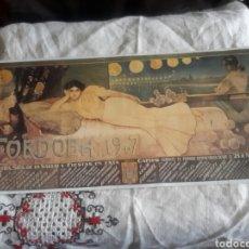 Coleccionismo de carteles: CARTEL LITOGRAFICO DE LA FERIA DE CÓRDOBA DE 1907. Lote 118158206