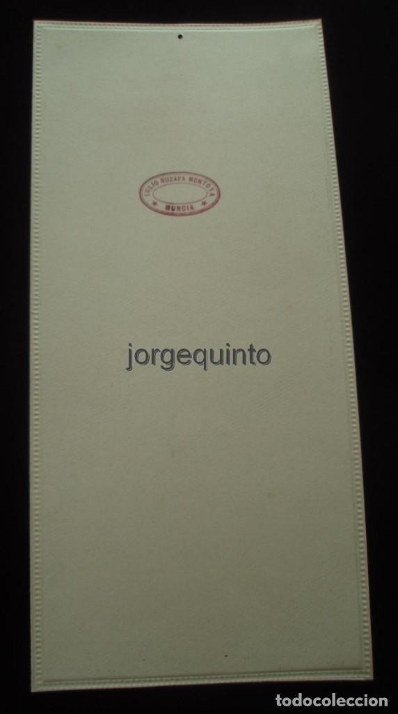 Coleccionismo de carteles: CARTEL. PUBLICIDAD DE PRODUCTOS SANOLÁN-SAN SEBASTIÁN. HACIA 1920. JULIO RUZAFA MONTOYA. MURCIA - Foto 2 - 118893739