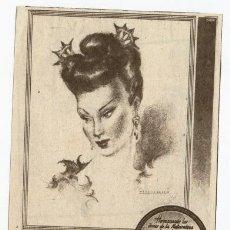 Coleccionismo de carteles: ANUNCIO PUBLICITARIO CREMA DE CUTIS **CUTIFINA BLANCAFLOR** PARA PIELES SECAS Y GRASAS (AÑOS 60). Lote 118911316
