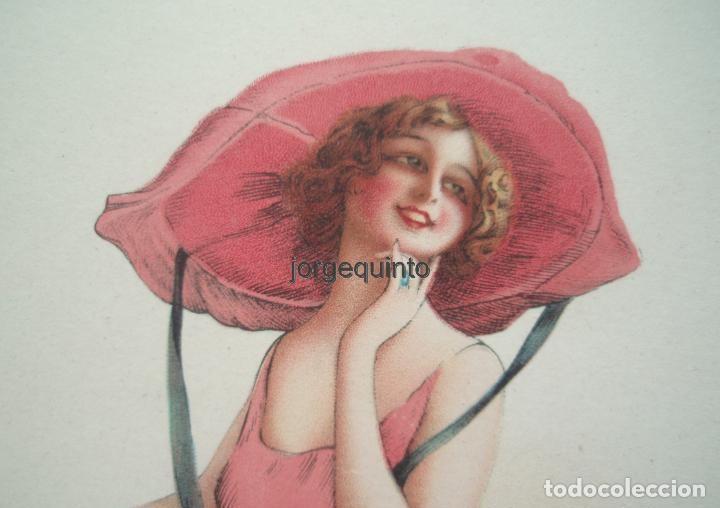 Coleccionismo de carteles: CARTEL. PUBLICIDAD DE PRODUCTOS SANOLÁN-SAN SEBASTIÁN. HACIA 1920. JULIO RUZAFA MONTOYA. MURCIA - Foto 4 - 119011083