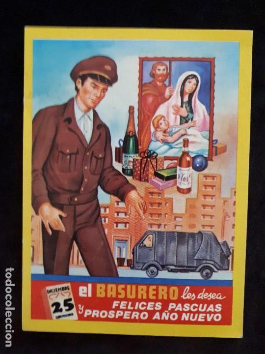EL BARRENDERO. FELICES PASCUAS. ED. VIKINGO (Coleccionismo - Carteles Pequeño Formato)