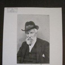 Coleccionismo de carteles: DIADA DEL LLIBRE 1928 - LLIBRERIA ESPANYOLA - SANTIAGO RUSIÑOL - MIDE 21X25 CM -VER FOTOS-(V-14.504). Lote 121049703