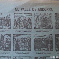 Coleccionismo de carteles: AUCA ALELUYA HERNANDO EL VALLE DE ANDORRA Nº 44. Lote 121343379
