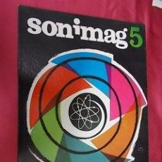 Coleccionismo de carteles: CARTEL. SONIMAG 5. V SALÓN DE LA IMAGEN, SONIDO Y LA ELECTRONICA. BARCELONA 1967. Lote 121815375