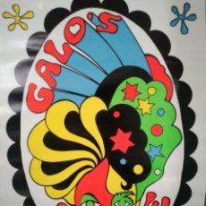 Coleccionismo de carteles: GALO'S. SANTURCE. CARTEL DISCOTECA AÑOS 70. GRAFICAS TRIFAX SESTAO.. Lote 191275251