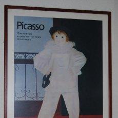 Coleccionismo de carteles: CARTEL EXPOSICIÓN PICASSO - GRAND PALAIS PARÍS 1979-1980 - PAUL EN PIERROT - EDICIÓN LIMITADA. Lote 124546019