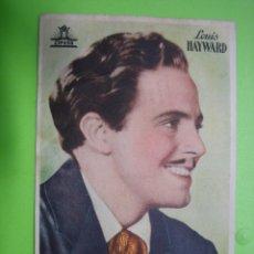 Coleccionismo de carteles: 11 PROGRAMA DE CINE. LOUCA HAYWARD. Lote 125449303