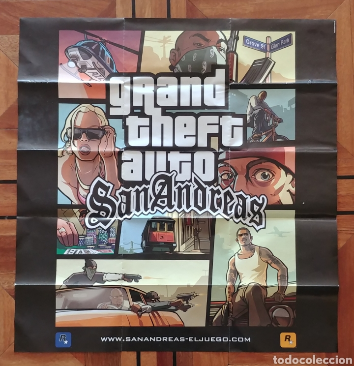 Grand Theft auto San Andreas poster original