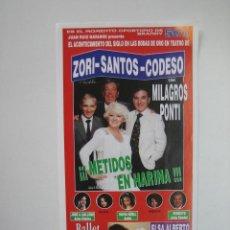 Coleccionismo de carteles: PROGRAMA DE TEATRO. FRAN TEATRO. Lote 127153423