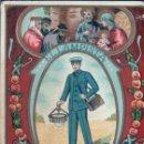Coleccionismo de carteles: EL LAMPISTA - FELICITA A Y LAS PASCUAS DE NAVIDAD - VER REVERSO 14*8 CM. Lote 129452739