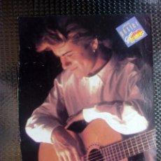 Coleccionismo de carteles: SUPER POP - 1980 POSTER GEORGE MICHAEL - 26X18 CTMS.. Lote 130601486