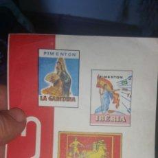 Coleccionismo de carteles: PUBLICIDAD DE PIMENTÓN APOLO IBERIA LA GADITANA ANTONIO FUSTER Y CÍA. Lote 130896483