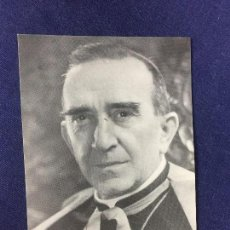Coleccionismo de carteles: CARTEL IMAGEN MONSEÑOR CASIMIRO MORCILLO GONZALEZ ARZOBISPO MADRID ALCALA 1971 . Lote 131650614