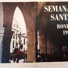 Coleccionismo de carteles: ITINERARIO SEMANA SANTA RONDA, 1983. Lote 133033062
