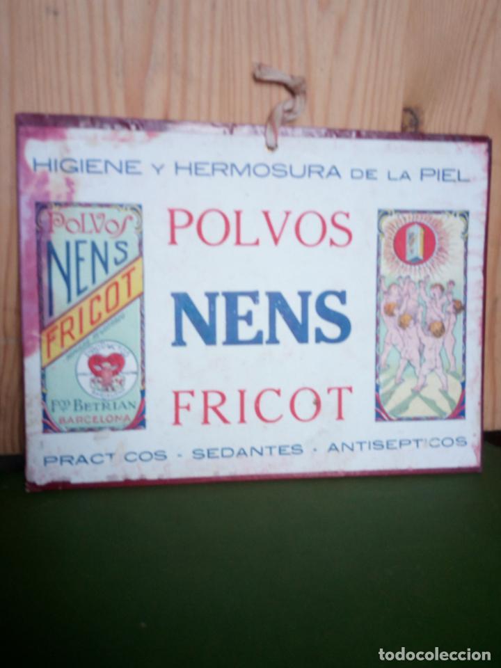 Coleccionismo de carteles: POLVOS NENS FRICOT - cartel carton - Foto 2 - 133056030