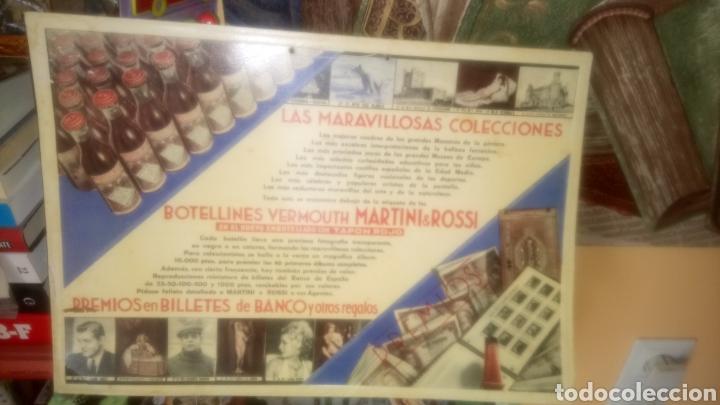 CARTEL DE CARTÓN DE BOTELLINES VERMOUTH MARTINI&ROSSI. (Coleccionismo - Carteles Pequeño Formato)