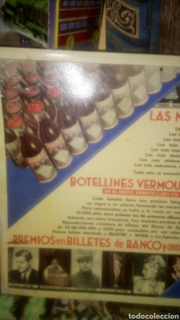Coleccionismo de carteles: CARTEL DE CARTÓN DE BOTELLINES VERMOUTH MARTINI&ROSSI. - Foto 2 - 133610041