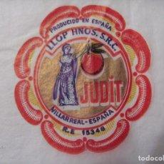 Coleccionismo de carteles: PAPEL DE SEDA ANTIGUO MARCA JUDIT. Lote 133683978